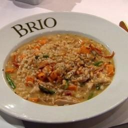 Brio's Sweet Potato and Chicken Risotto