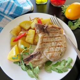 Brizola (Greek-style Pork Chops)