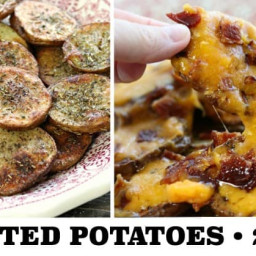 Broasted Potatoes (Seasoned, Smothered, and Covered Options)