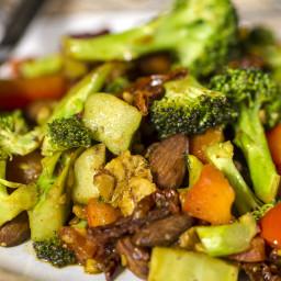 Broccoli Almond Stir Fry