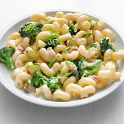 Broccoli and Bacon Mac and Cheese
