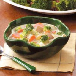 Broccoli and Carrot Chowder Recipe