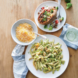 Broccoli and Cheddar Chicken Pasta