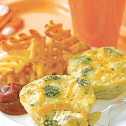 Broccoli-and-Cheddar Mini Quiches