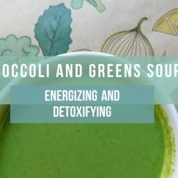 Broccoli and Greens Soup
