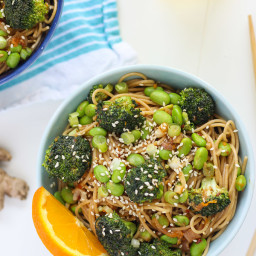 Broccoli & Orange Miso Pasta