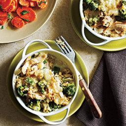 Broccoli and Rice Casseroles