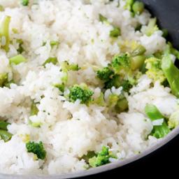 Broccoli and Rice Pilaf