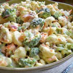 Broccoli & Cauliflower Salad