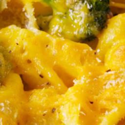 Broccoli-Cheddar Mac and Cheese