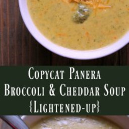 Broccoli Cheddar Soup {Copycat Panera}
