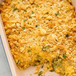 Broccoli Cheese Caserole