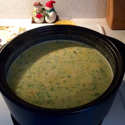 Broccoli Cheese Soup (Cotter)