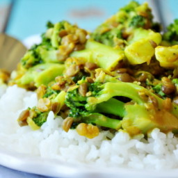 Broccoli Dal Curry