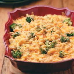 Broccoli Mac and Cheese Bake Recipe