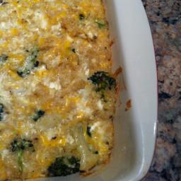 Broccoli-Quinoa Casserole