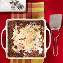 Broccoli Rabe and Turkey Sausage Lasagna