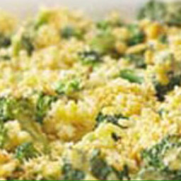 Broccoli Rice and Cheesey Casserole