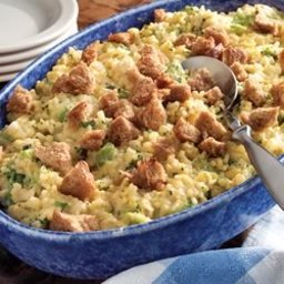 Broccoli Rice Casserole by Minute® Rice