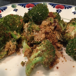 Broccoli Roasted with Blue Cheese
