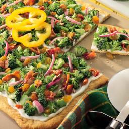 Broccoli Salad Squares