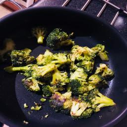 Broccoli sautéed