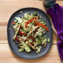 Broccoli Slaw Salad with Five-Spice Tofu