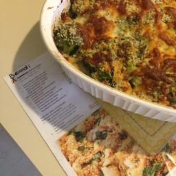 Broccoli & Spinach Gratin