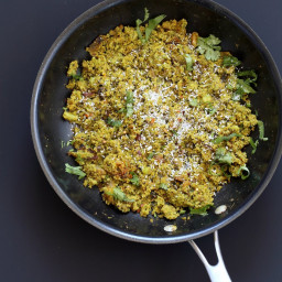 Broccoli Stir fry with Indian Spices - Broccoli Sabji