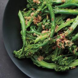 Broccolini with Spicy Sesame Vinaigrette
