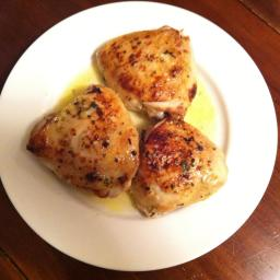 Broiled Chicken with Lemon & Garlic