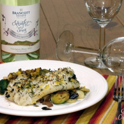 Broiled Grouper with Lemon and Thyme