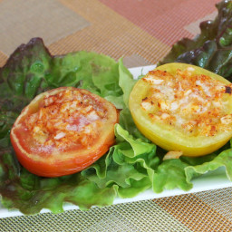 Broiled Tomatoes with Parmesan Cheese