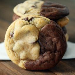 Brookies {Brownie + Chocolate Chip Cookies}
