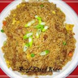 Brown Beef Rice