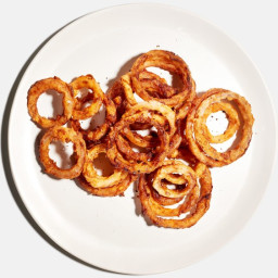 Brown Butter and #8211;Fried Onion Rings