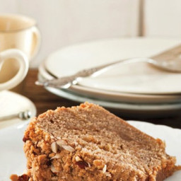 Brown Butter, Ginger, and Sour Cream Coffee Cake