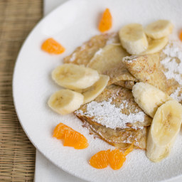 Brown Butter Nutella Crepes