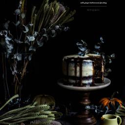 Brown Butter Pumpkin Chocolate Cake
