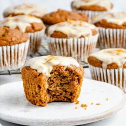 Brown Butter Pumpkin Orange Muffins
