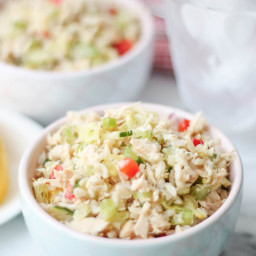 Brown Rice Tuna Salad - Gluten Free