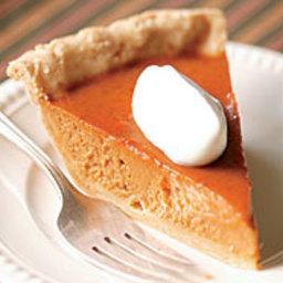 Brown Sugar and Sour Cream Pumpkin Pie