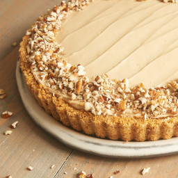 Brown Sugar Banana No-Bake Cheesecake