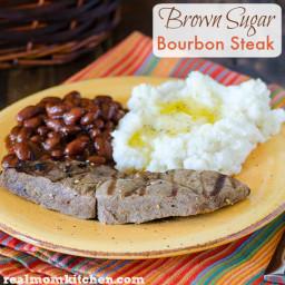 Brown Sugar Bourbon Steak
