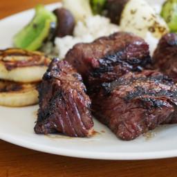 Brown Sugar Bourbon Steak Tips