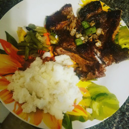 Brown Sugar Glaze Pork Chops