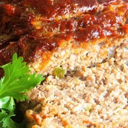 Brown Sugar Meatloaf with Ketchup Glaze