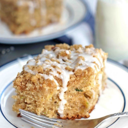 Browned Butter Zucchini Coffee Cake