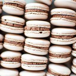 Brownie Batter Macarons