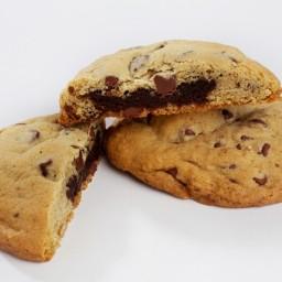Brownie-Stuffed Tollhouse Cookies